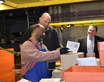 Pennsylvania lieutenant governor makes inaugural visit to largest storage facility in DOD