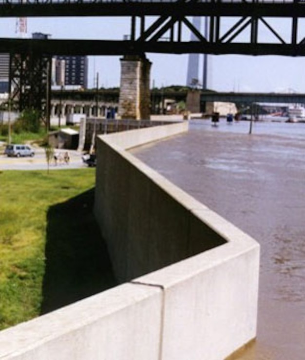 St. Louis Floodwall