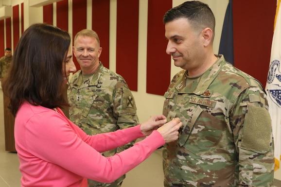 Col. Jeffrey L. Ryan promotion photo