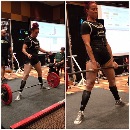 Behavioral Health employee sets new powerlifting records