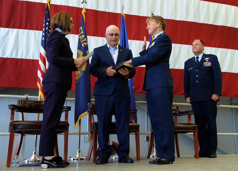 Oregon Air National Guard pins first female general officer