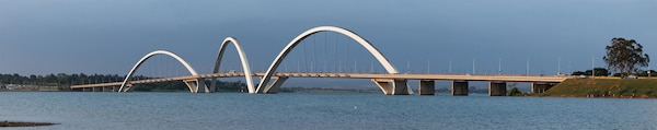 Juscelino Kubitschek bridge in Brasilia, Brazil; Latin America is no longer a development backwater.(Wikimedia/Erik Gaba)Licensed under Creative Commons Attribution-ShareAlike 3.0 Unported License. Photo produced unaltered.