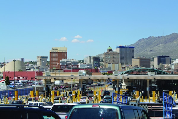 View of El Paso, Texas from the Ciudad Juárez, Chihuahua side of the U.S.–Mexico border. The United States is linked by history, geography, and economics to Latin America. (Flickr/ Astrid BussinikLicensed under Creative Commons Attribution 2.0 Generic License. Photo unaltered.