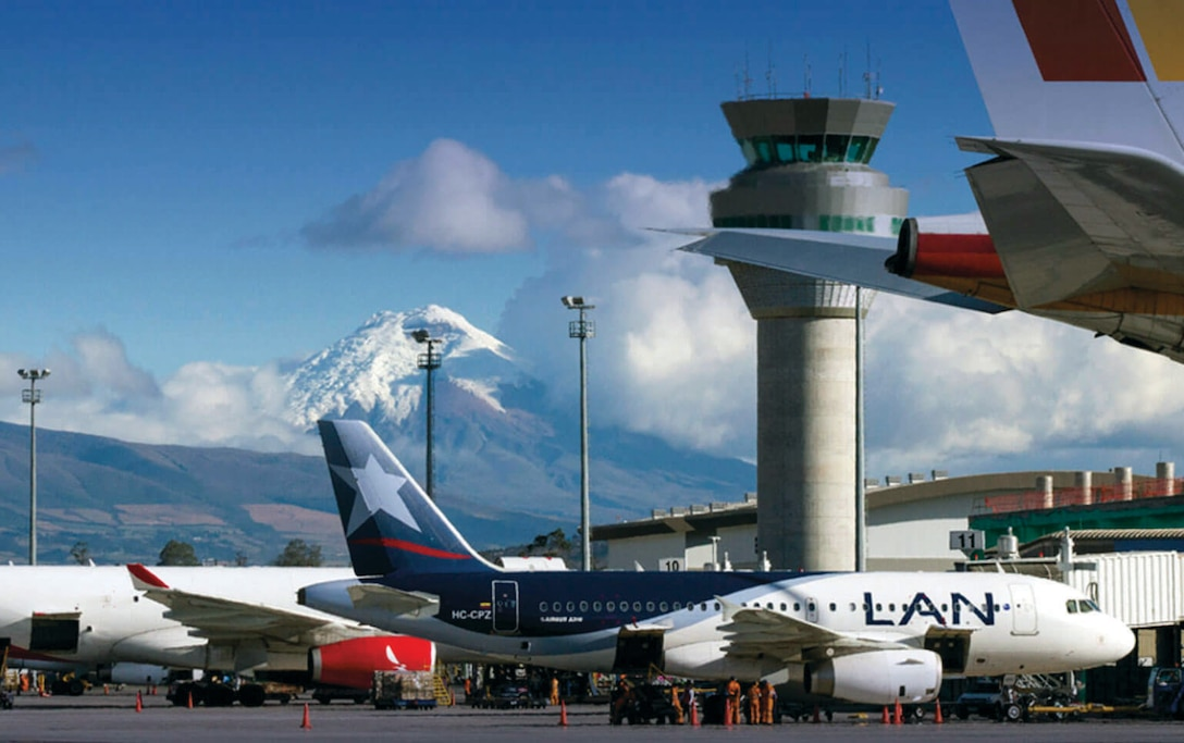 In 2003, OPIC committed $200 million in financing to support the construction of the Mariscal Sucre International Airport (Quiport) in Quito, Ecuador. Since opening in 2013, the airport has produced far-reaching benefits from Ecuador to the United States. (OPIC)