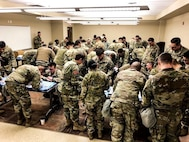 Bulldogs Engage in Battle-focused Medical Training