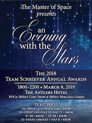 "Annual awards to feature ""An evening with the stars"""