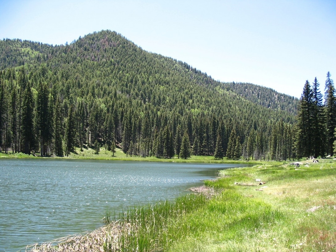 Photo of the pristine condition of the Santa Clara Creek Canyon watershed prior to wildfires and flooding events.