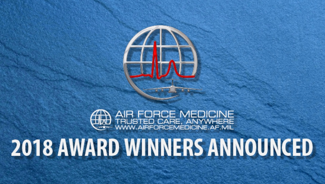 The Air Force Surgeon General has announced the recipients of the Air Force Medical Service 2018 individual and team Annual Awards. (U.S. Air Force graphic)