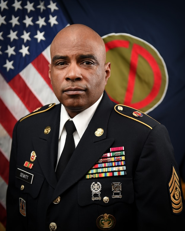 CSM Theodore Dewitt, Command Sergeant Major, 85th U.S. Army Reserve Support Command