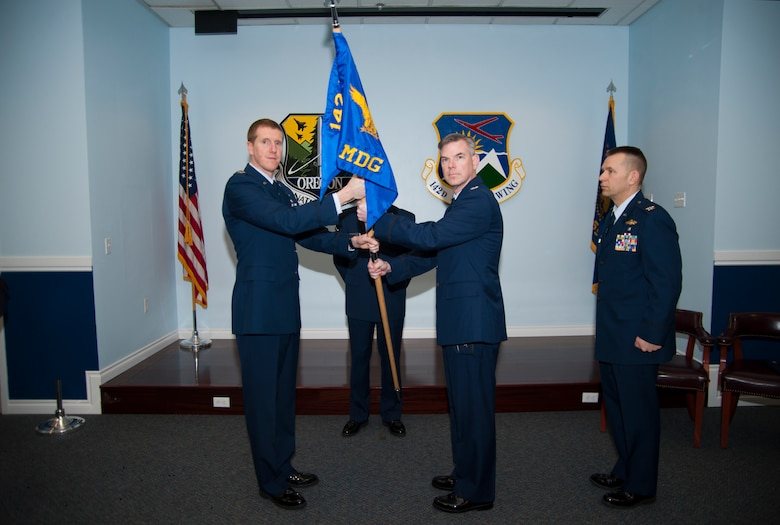 142nd Medical Group conducts Change of Command