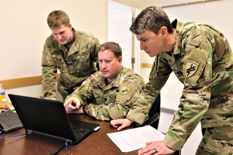 Civil affairs, PSYOP, info ops troops train in Command Post Exercise-Functional 19-10 at Fort McCoy