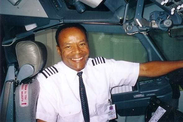"Retired Lt. Col. Larry ""Jet"" Jackson, Tuskegee Airmen Incorporated Western Region mentor. (Courtesy photo)"