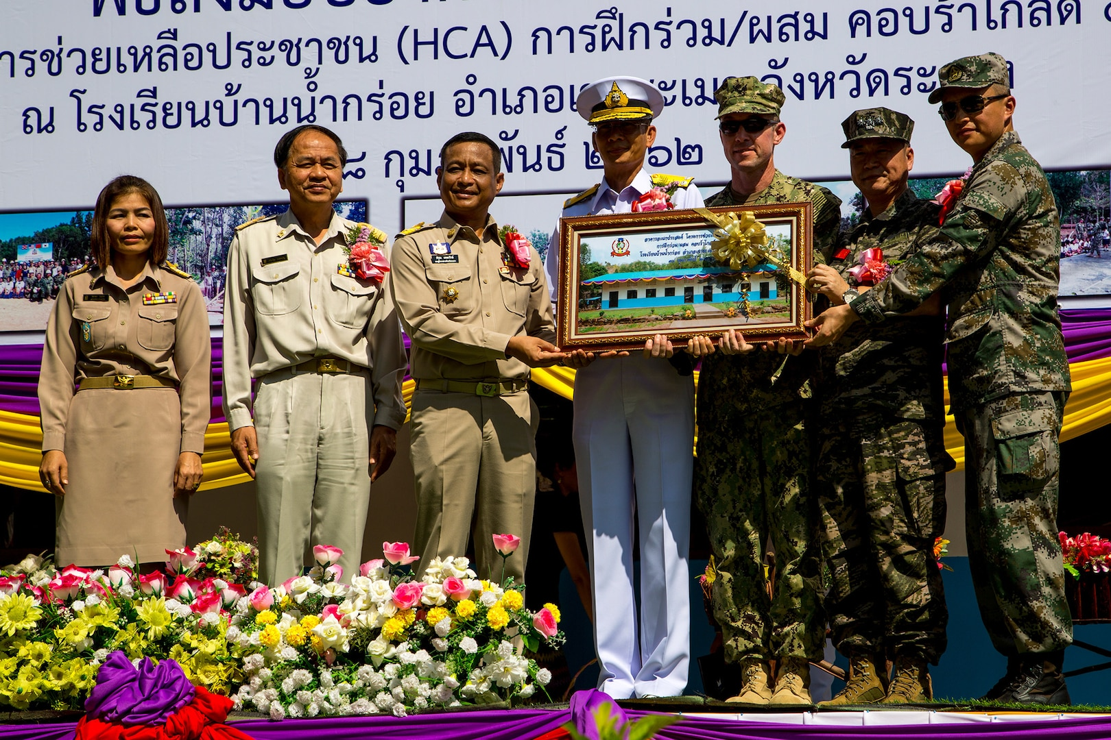 Cobra Gold 19: Four Nations Come Together to Build Classrooms, Showcasing Partnership