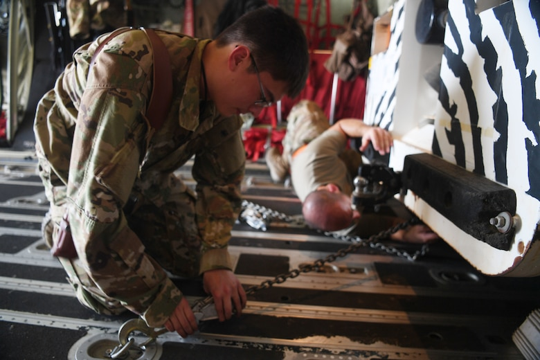 The 75th Expeditionary Airlift Squadron provides tactical and humanitarian airlift capabilities to units across Africa.