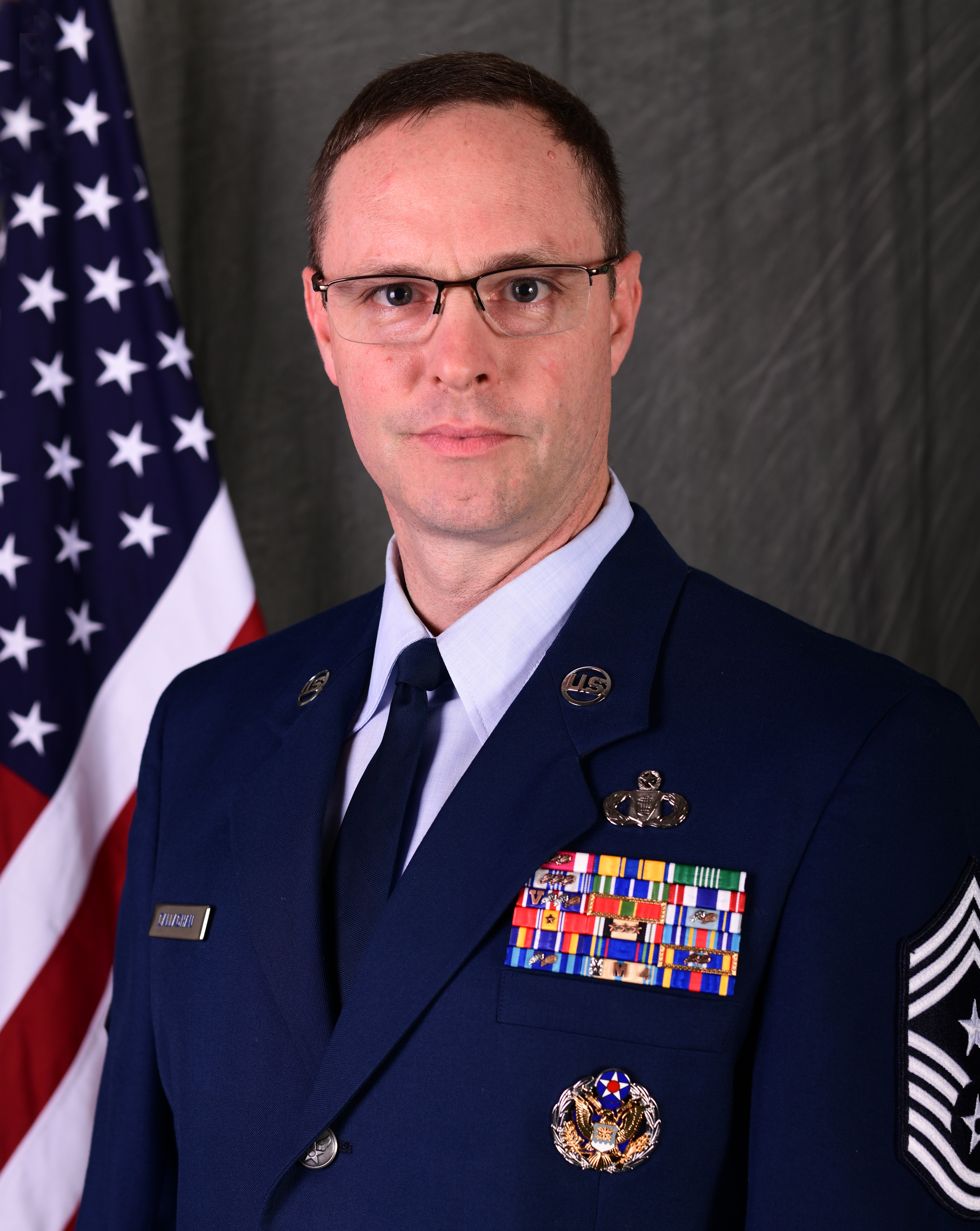 CMSgt. David B. Callaghan Sr