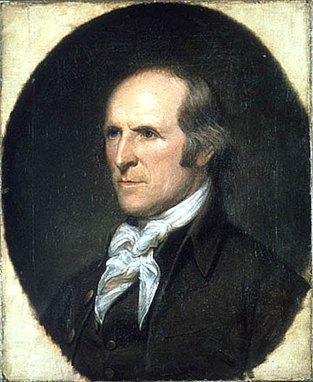 Quartermaster Gen. Timothy Pickering portrait by American painter Charles Willson Peale.