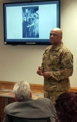 Army Reserve Chief Warrant Officer Phillip Brashear