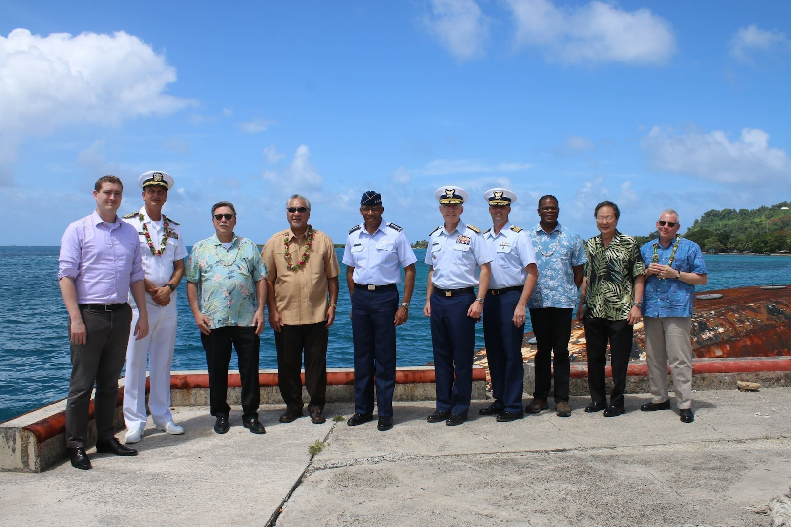 U.S., Federated States of Micronesia Conduct Bilateral Engagement; Commemorate Operation Hailstone
