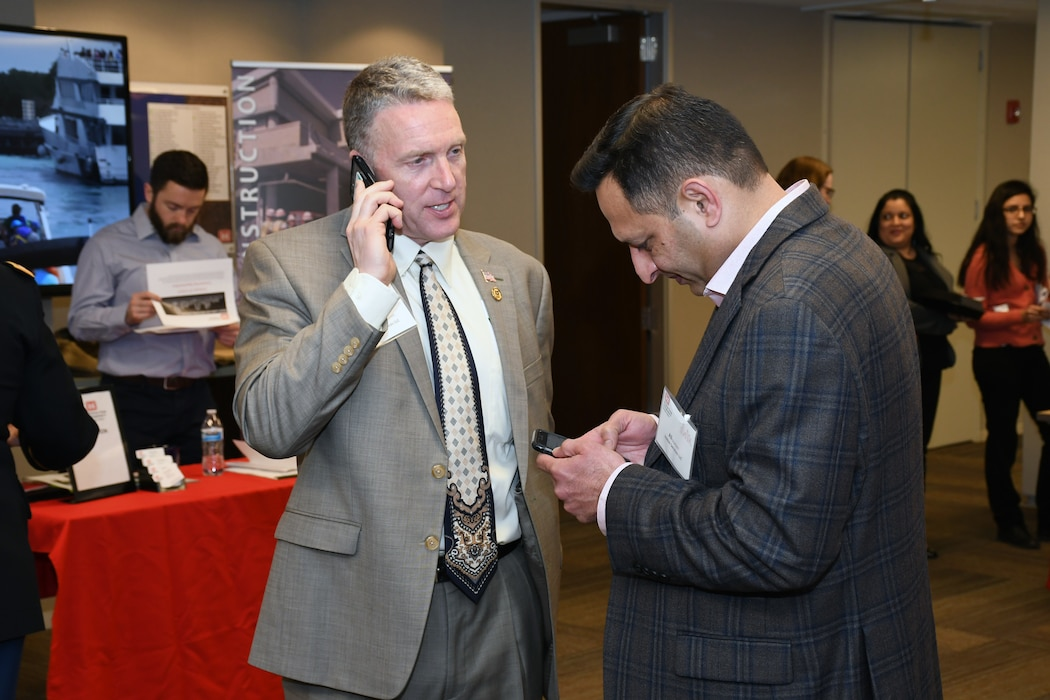 The U.S. Army Corps of Engineers Chicago District hosted a Business Opportunities Open House Feb. 20.