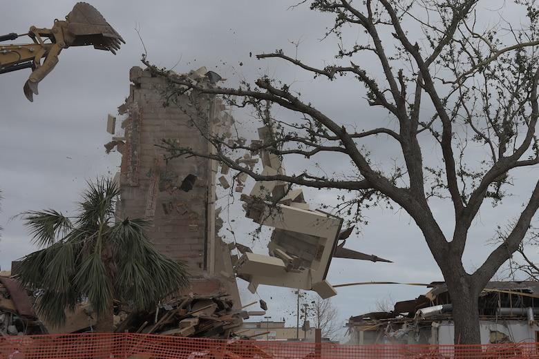 chapel demolition