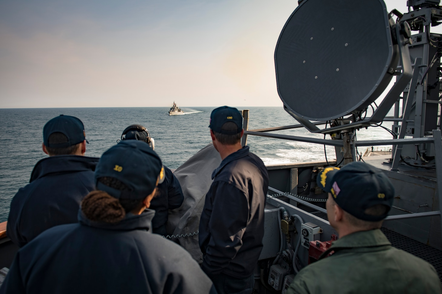 Maritime Training with Turkey in Black Sea