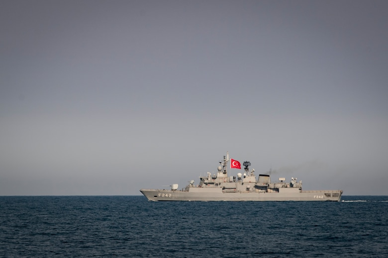 Maritime Training with Turkey in Black Sea