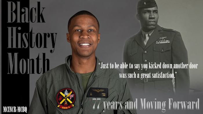 """Meet Maj. Anthony """"Humpty"""" Parker, a VH-3D and VH-60 pilot with HMX-1, Marine Corps Base Quantico."""