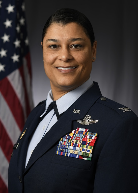 Col. Dana Nelson, 507th Air Refueling Wing vice commander, stands for an official photograph. (U.S. Air Force courtesy photo)
