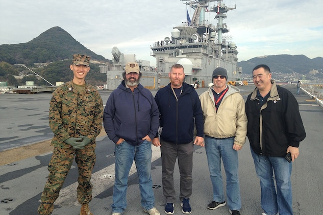 MCTSSA conducts systems operability testing aboard USS Wasp