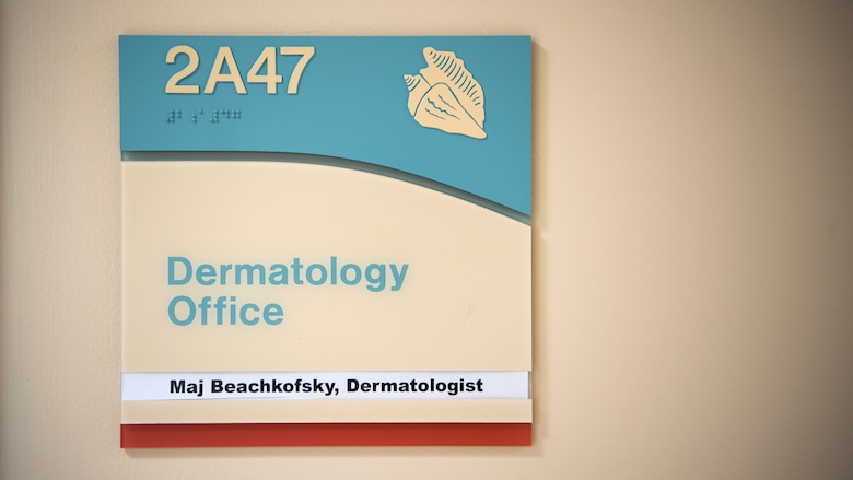 The Dermatology Office at MacDill Air Force Base, Fla., offers a variety of treatments for those who suffer from scarring as a result of blast injuries, burns, amputations, and other surgeries. Headed by Dr. Beachkofsky, the scar clinic utilizes cutting edge laser technologies to improve scar tissue.