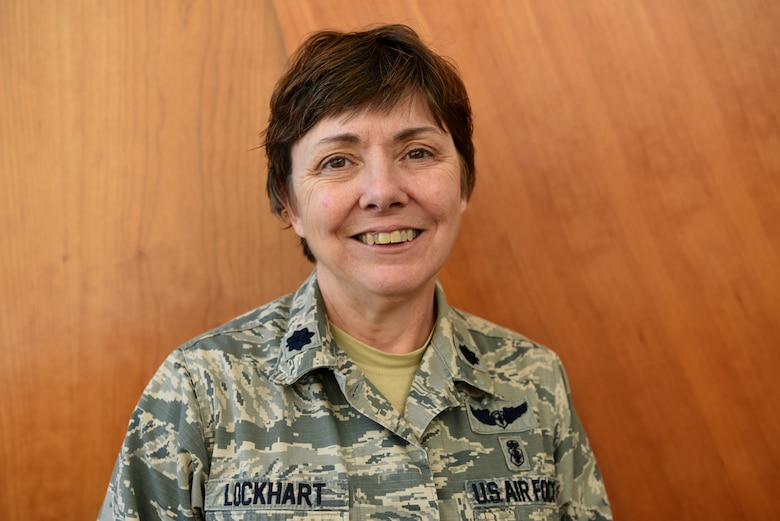 U.S. Air Force Lt. Col. Cheryl Lockhart, 20th Medical Group chief nurse, is the recipient of the 2018 Air Force Excellence in Nursing Leadership Award, Feb. 20, 2019.