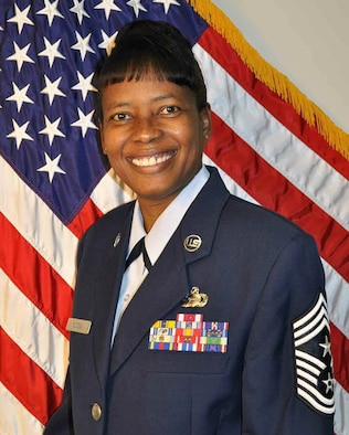 Official photo for Command Chief Betty Morgan