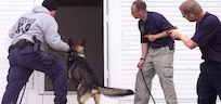 Indiana State Police conduct K-9 Training