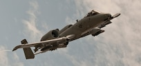 An A-10 Warthog  over the Indiana Air Range Complex
