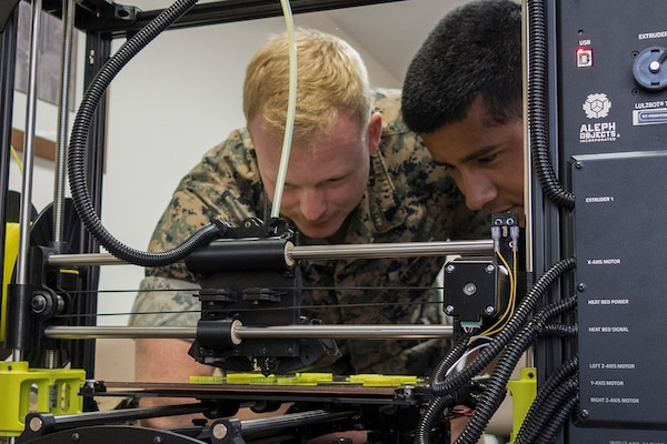 AMOC gives Marines 24/7 additive manufacturing assistance