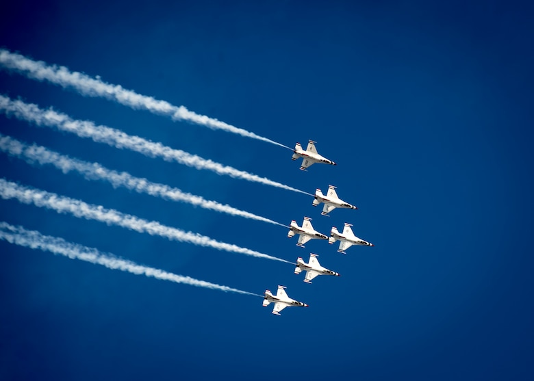Photo courtesy of the U.S. Air Force Thunderbirds.