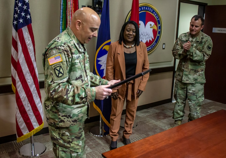 USARC civilian wins Inspector General Award
