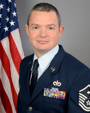Master Sgt. Daniel Tatum, 169th Civil Engineer Squadron first sergeant