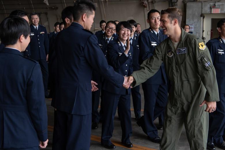 JASDF Cadets visit Team Kadena