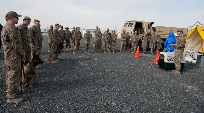 Airmen, Soldiers conduct joint CBRN training