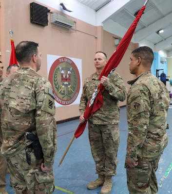 Task Force Essayons changes commanders during ceremony in Iraq