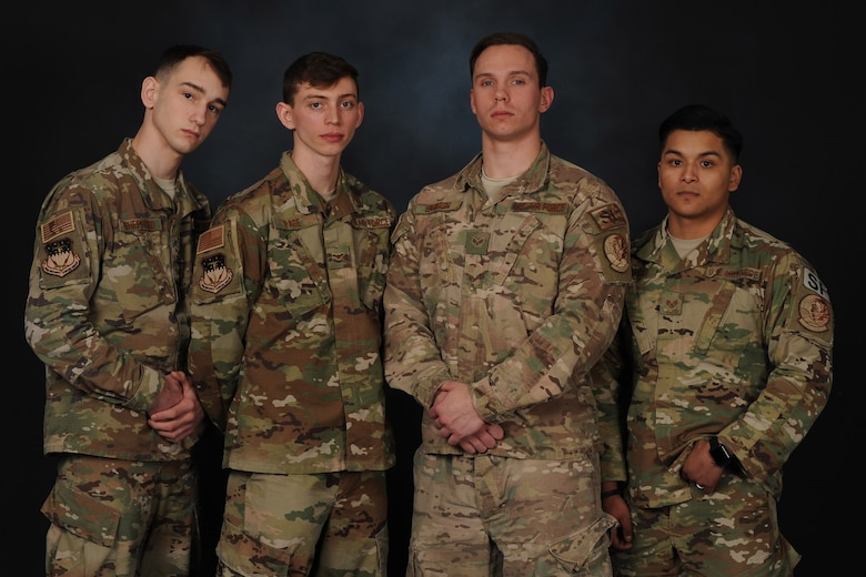 These Airmen jumped into action to free a civilian who had been trapped in her vehicle after a rollover.