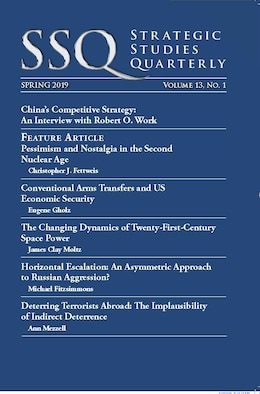 Air University Press releases spring 2019 Strategic Studies Quarterly