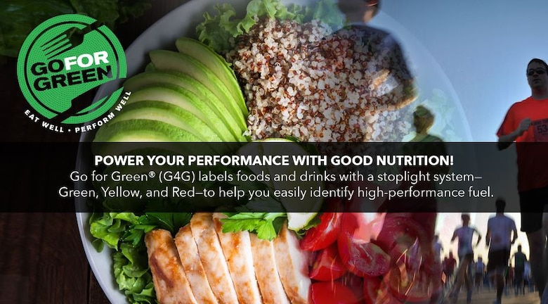 Go For Green Power Your Performance With Good Nutrition