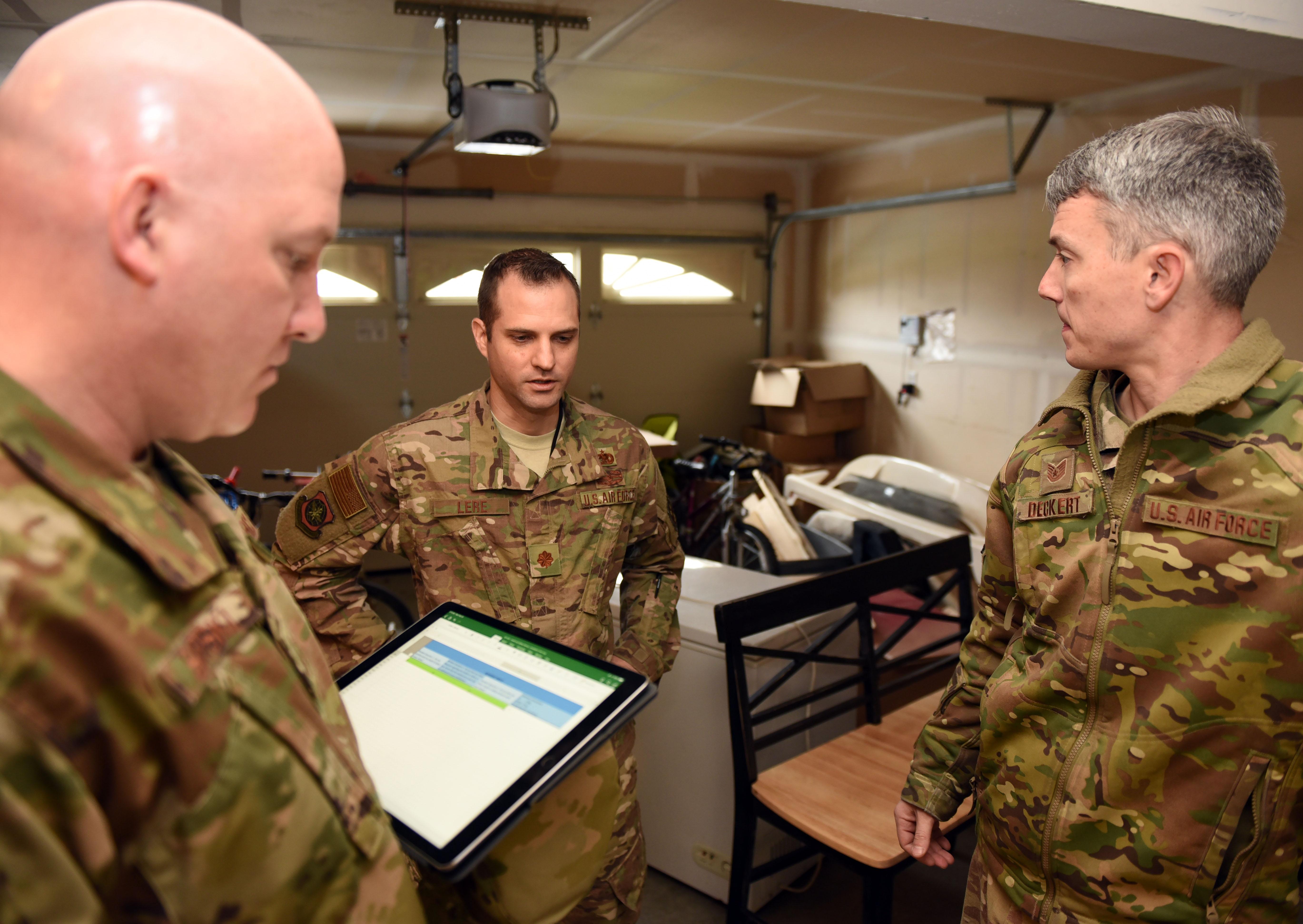 Travis AFB reviews base housing conditions, ensures Airmen