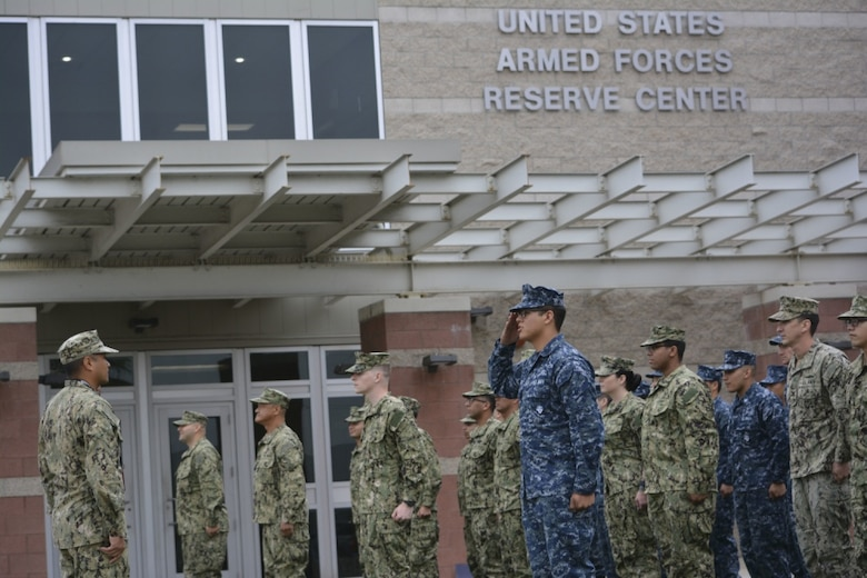 File Photo of U.S. Armed Forces Reserve Center