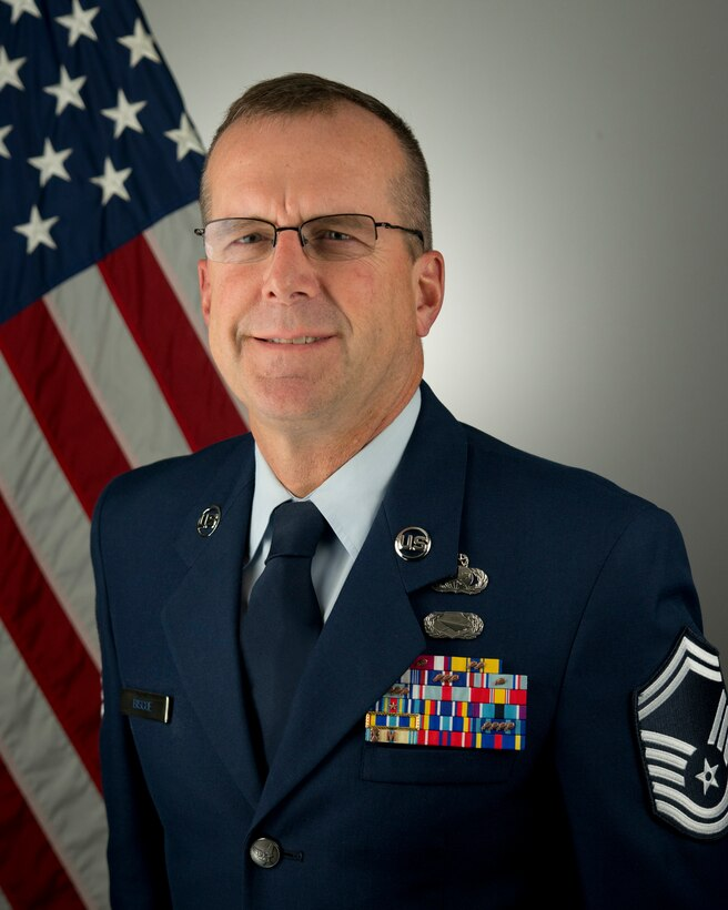 Senior Master Sgt. Andrew Biscoe Bio Picture