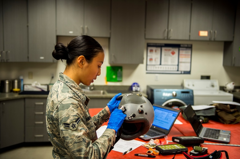 As well as testing gear used on a regular basis, AFE Airmen also inspect and test emergency gear to make sure it functions properly in the event of an emergency.