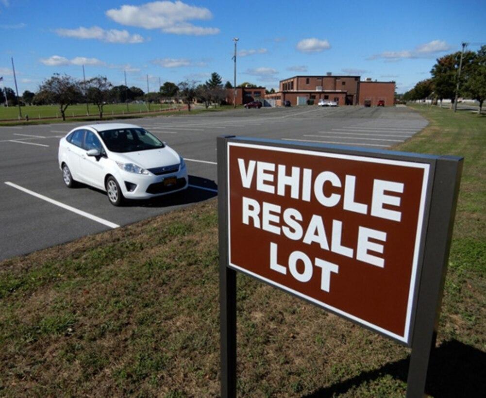 Westover Vehicle Resale Lot