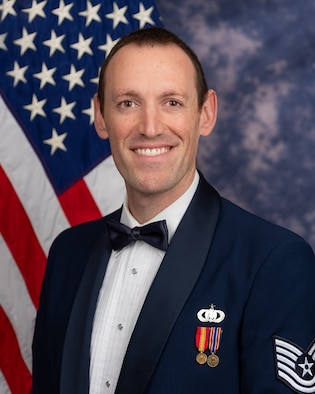 Official Photo of Technical Sgt. Matthew Scollin, bass-baritone vocalist with The United States Air Force Singing Sergeants. (U.S. Air Force Photo by MSgt Brandon Chaney/released)